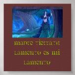 Poster Lamento Celta