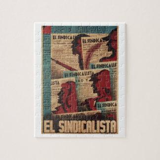 Poster leído y separado del EL Puzzle Con Fotos