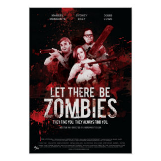 Poster Let There Be Zombies