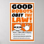 """Poster LEY del ROBOT"""" del lago autumn de la """""""
