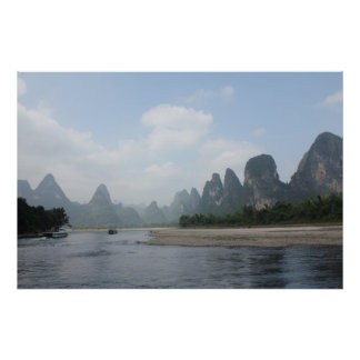 POSTER Li River Guilin China