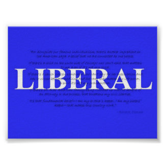 Poster liberal