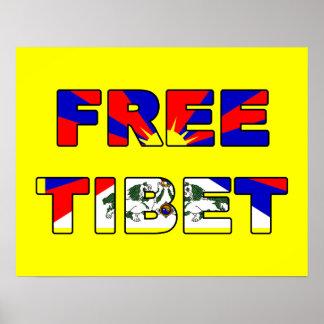 Poster libre de Tíbet