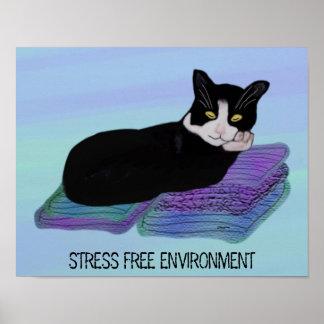 Poster libre del ambiente de la tensión de la sies