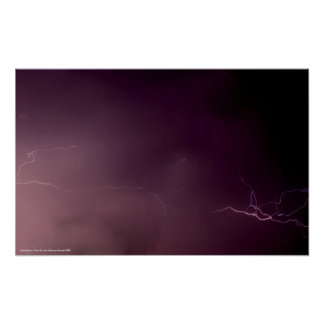Poster Lighting Storm - Photo By: John A Syl...