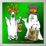 Poster lindo de los fantasmas