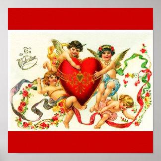 Poster-Love Art-Vintage Valentine 11 Poster