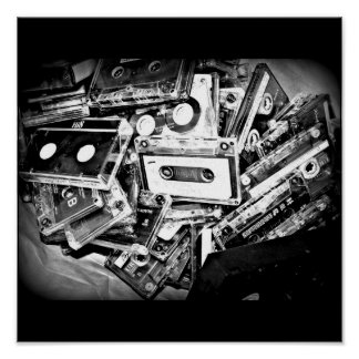 Poster-Love the Arts-Cassette Tapes Poster
