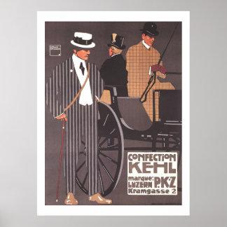 Poster Luis Hohlwein de Kehl PKZ