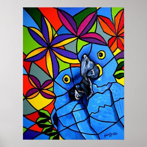 """Poster """"Macaw"""" - Poster """"Arara"""" Póster"""