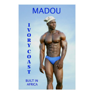 Poster, Madou, Built in Africa