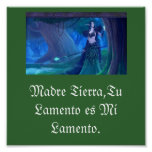 Poster Madre Tierra