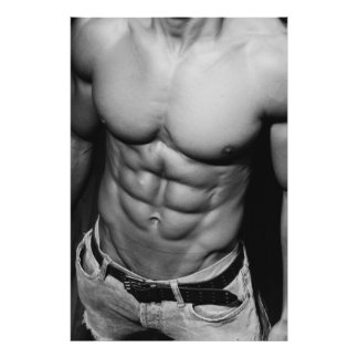 Poster magro del ABS