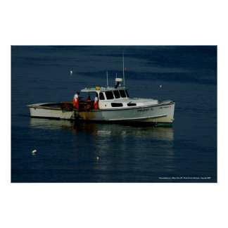 Poster Maine Lobsterman - Kittery Point, ME ...