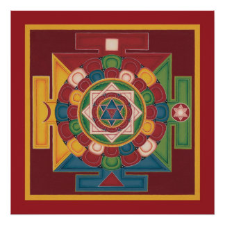 POSTER Mandala of 5 Elements - starts from $14.25