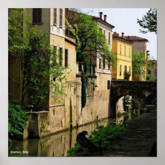 Poster Mantua Italia