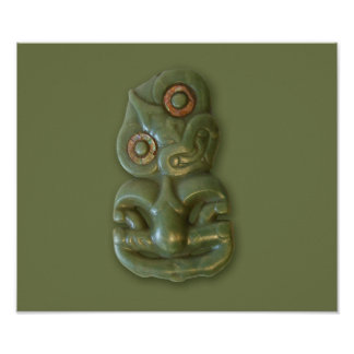 Poster maorí de Hei-Tiki