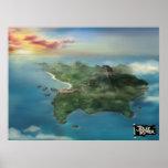 Poster mareado de la isla