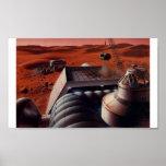 Poster Mars Base