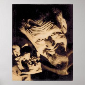 Poster mate de Ghoulardi (W/Skull-1) Póster