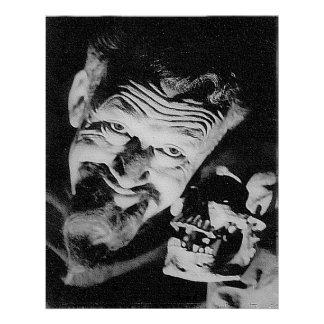Poster mate de Ghoulardi (W/Skull-2)