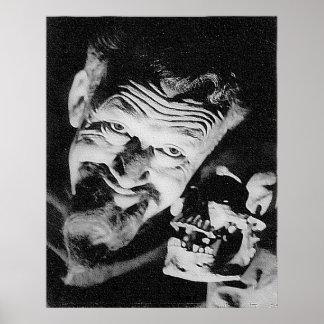 Poster mate de Ghoulardi (W/Skull-2) Póster