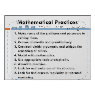 Poster matemático de las prácticas póster