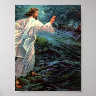 Poster: Matthew 14:29-30 Poster