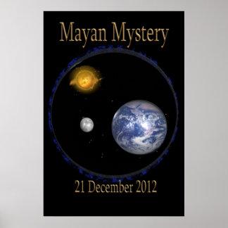 Poster maya 2010 del misterio
