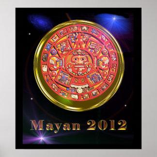 Poster maya 2012 del día del juicio final