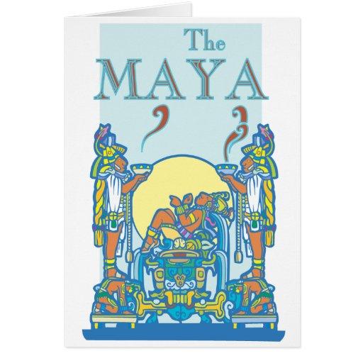 Poster maya 3 felicitacion