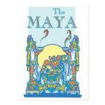Poster maya 3 postales