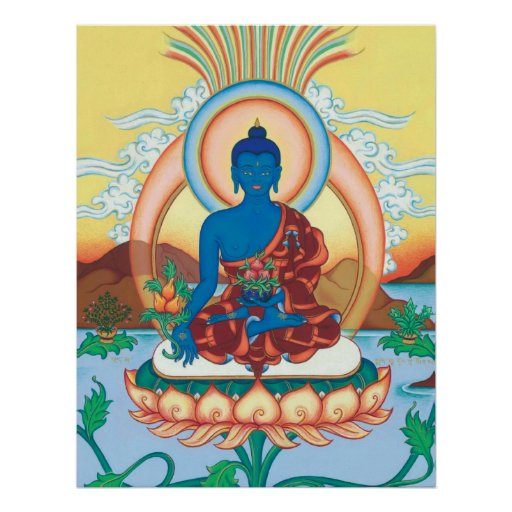 POSTER Medicine Buddha - starting from $14.25