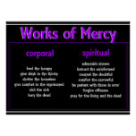 Poster-Merciful Works