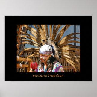 poster mexicano de la tradición