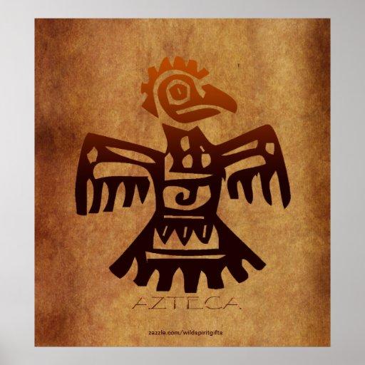 Poster mexicano del arte del alcohol del pájaro de