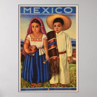 Poster mexicano del viaje