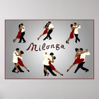 poster milonga