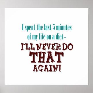 Poster minucioso de la dieta 5