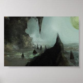 Poster misterioso de la ensenada