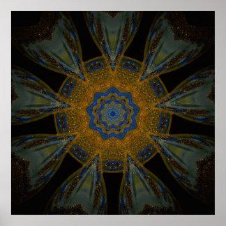 Poster místico de la mandala