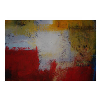 Poster moderno del arte abstracto - cuadrados