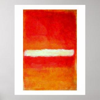 Poster moderno del arte abstracto - estilo de Roth