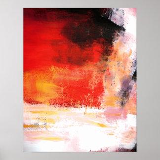 Poster moderno del arte abstracto - ilustraciones
