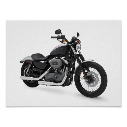 Poster: Motocicleta Póster