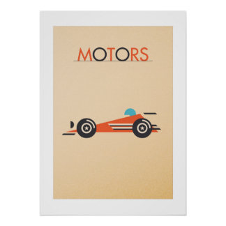 Poster MOTORS: The because