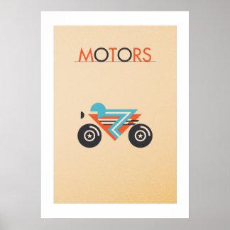 Poster MOTORS: The bike