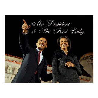 Poster Mr. President & The First Lady