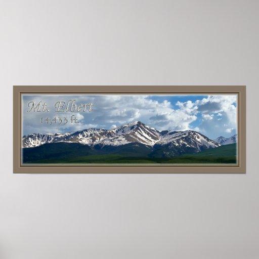 poster-Mt Elbert