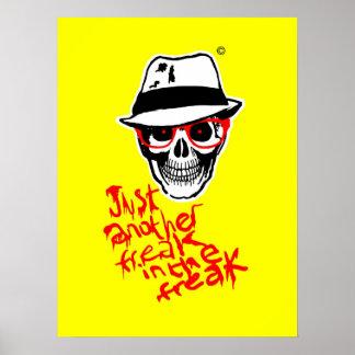 Poster muerto de Thompson del cazador